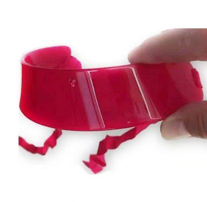 Choker rosso