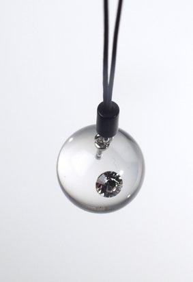 sfera plexiglas con swarovski