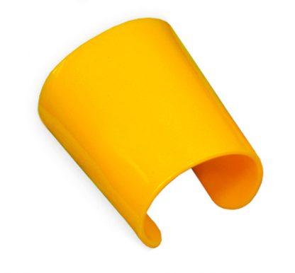 Manicotto Perspex Vintage giallo