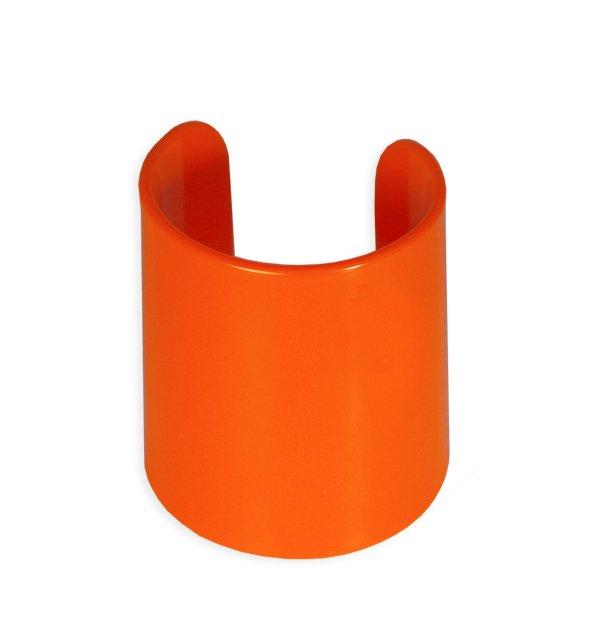 Manicotto Perspex Vintage arancio
