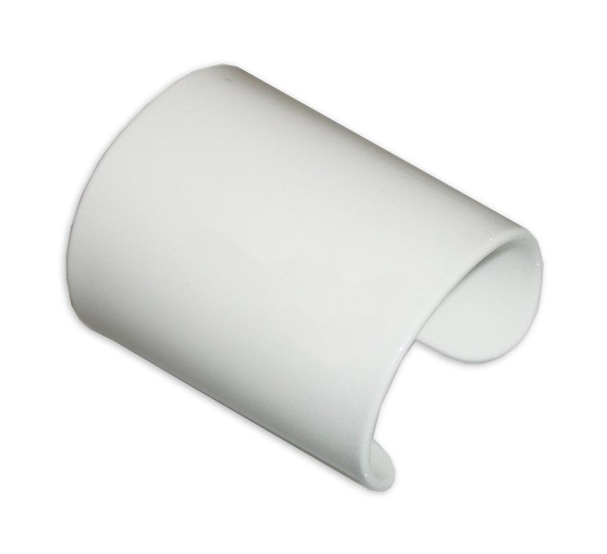 Manicotto Perspex Vintage bianco