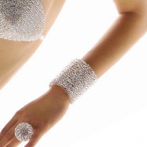 Bracciale alto sparkling