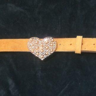 cintura cuore vintage