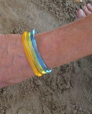 Fluo thin bar bracelet
