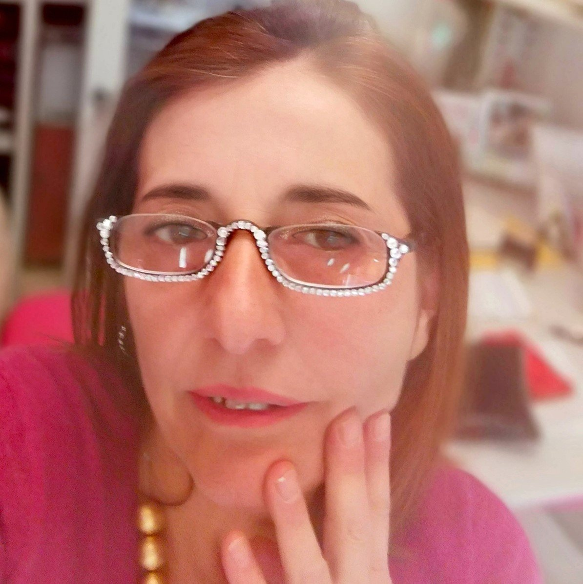 occhiali lettura swarovski