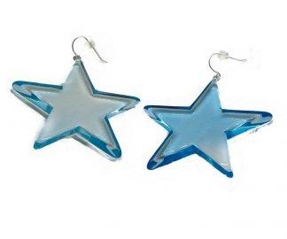 Orecchini stelle maxi