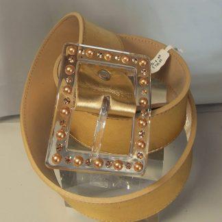 cintura fibbia gioiello