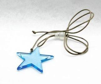 Collana stella blu