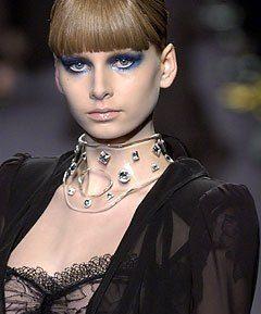 Collier moda Perspex
