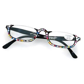 occhiali lettura strass